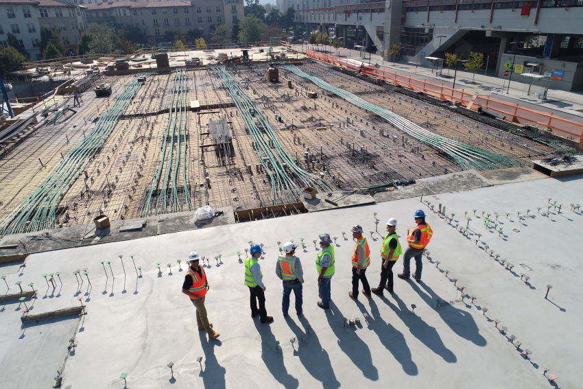 An image of workers on a construction site to give context to this case study on commercial debt recovery in the construction industry