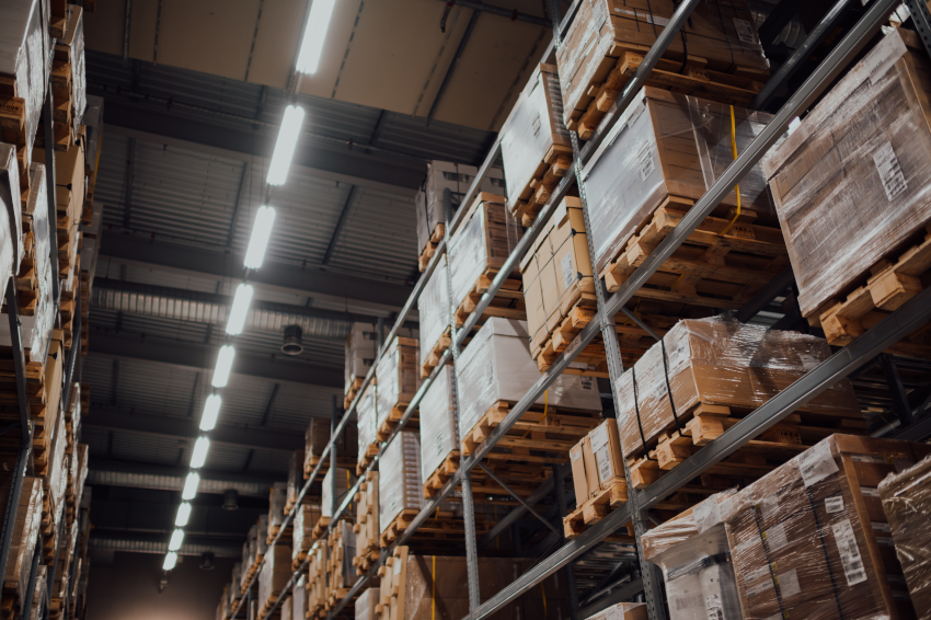 Image from a wholesaler's warehouse to give context to this case study on commercial debt recovery in the wholesale industry