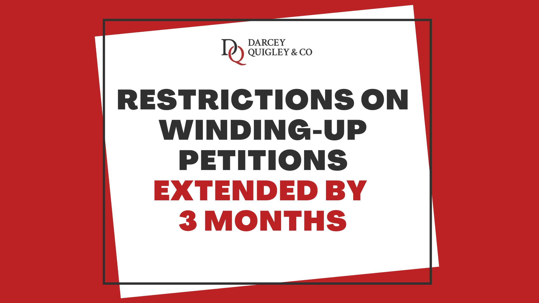 UK Government Further Extends Temporary Restrictions on Winding-up Petitions